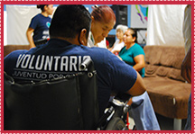 Testimonio - Voluntarios